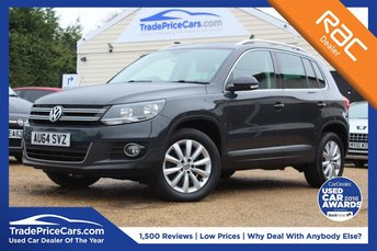 2014 VOLKSWAGEN TIGUAN 2.0 MATCH TDI BLUEMOTION TECHNOLOGY 4MOTION 5d 139 BHP £12950.00
