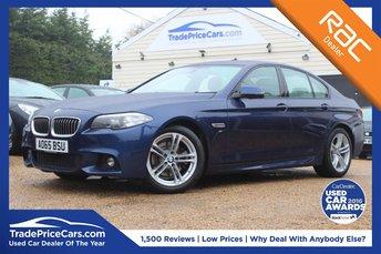 2015 BMW 5 SERIES 2.0 520D M SPORT 4d AUTO 188 BHP £19500.00