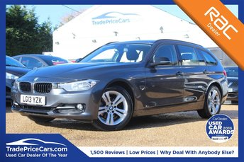 2013 BMW 3 SERIES 2.0 316D SPORT TOURING 5d 114 BHP £10950.00