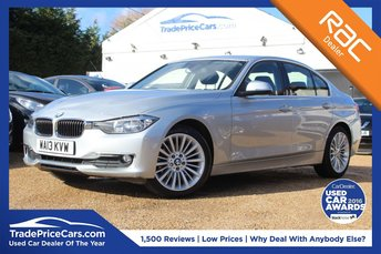2013 BMW 3 SERIES 2.0 320D LUXURY 4d 184 BHP £12500.00