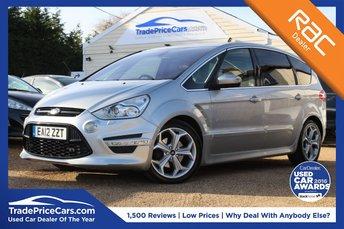2012 FORD S-MAX 2.0 TITANIUM X SPORT TDCI 5d 161 BHP £14450.00