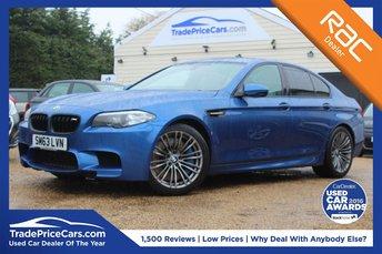 2014 BMW 5 SERIES 4.4 M5 4d AUTO 553 BHP £32750.00