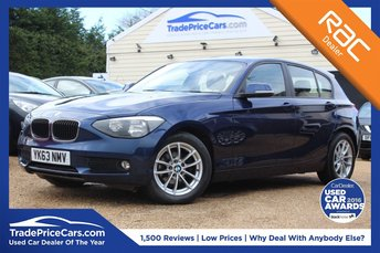 2013 BMW 1 SERIES 1.6 116D EFFICIENTDYNAMICS 5d 114 BHP £9950.00