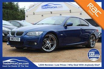 2013 BMW 3 SERIES 2.0 320D M SPORT 2d AUTO 181 BHP £14250.00