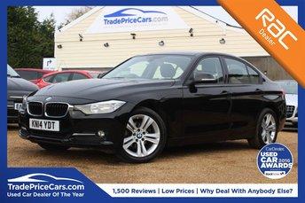 2014 BMW 3 SERIES 2.0 318D SPORT 4d AUTO 141 BHP £13450.00