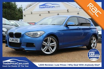2014 BMW 1 SERIES 2.0 118D M SPORT 5d 141 BHP £12000.00