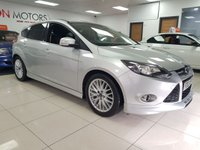 2012 FORD FOCUS 1.6 ZETEC S TDCI 5d ST BODYKIT STYLING SERVICE HISTORY £5990.00