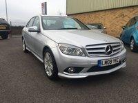 2009 MERCEDES-BENZ C CLASS 2.1 C220 CDI SPORT 4d AUTO 168 BHP £7995.00