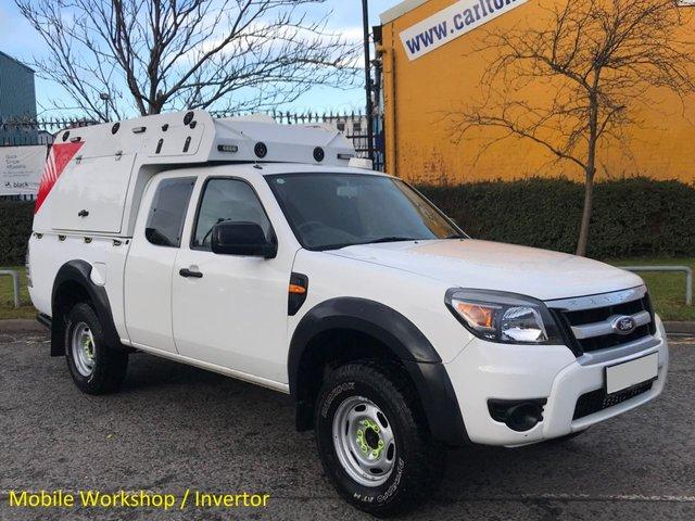 2012 12 FORD RANGER 2.5 XL 4X4 D/CAB TDCI 143 [ MOBILE WORKSHOP ] Van Ex NEDL, Free UK Delivery