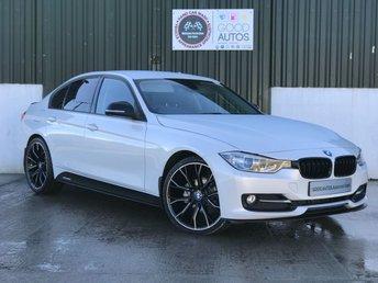2014 BMW 3 SERIES 2.0 318D SPORT 4d AUTO 141 BHP £14495.00