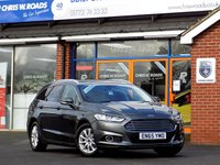 USED 2016 65 FORD MONDEO 2.0 TDCi TITANIUM ECONETIC 5dr (150) * Leather & Sat Nav * *ONLY 9.9% APR with FREE Servicing*