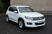 2014 VOLKSWAGEN TIGUAN 2.0 R LINE TDI BLUEMOTION TECHNOLOGY 4MOTION 5d 139 BHP £14750.00