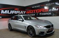 2015 BMW 4 SERIES 2.0 420D M SPORT GRAN COUPE 4DOOR AUTO 181 BHP *SAT NAV* £20750.00