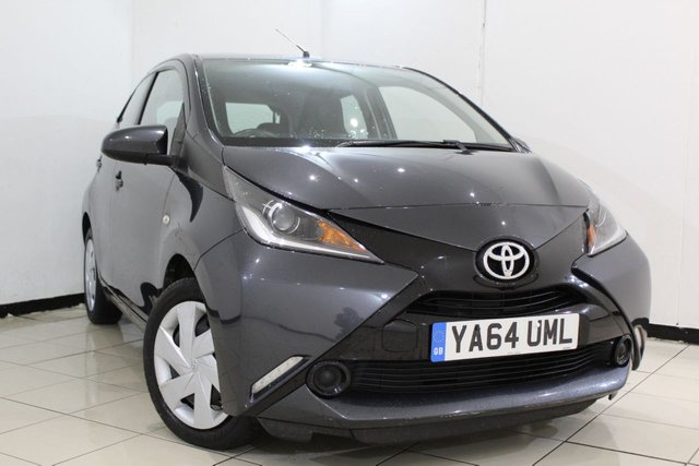 View our 2015 64 TOYOTA AYGO 1.0 VVT-I X-PLAY X-SHIFT 5DR AUTOMATIC 69 BHP