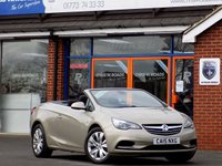 USED 2015 15 VAUXHALL CASCADA 2.0 CDTi SE 2dr 165 BHP Only 9,000 Miles *ONLY 9.9% APR*