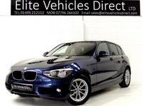 2014 BMW 1 SERIES 1.6 116D EFFICIENTDYNAMICS BUSINESS 5d 114 BHP £10291.00