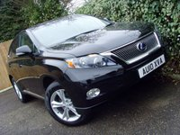 2010 LEXUS RX 3.5 450H SE-I 5d AUTO 249 BHP £14499.00