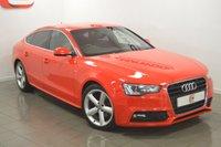 2012 AUDI A5 1.8 SPORTBACK TFSI S LINE 5d 170 BHP £13995.00