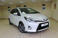 2014 TOYOTA YARIS 1.5 HYBRID TREND 5d AUTO 61 BHP £SOLD