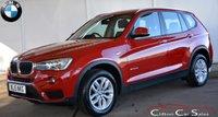 2015 BMW X3 2.0d X-DRIVE SE 5 DOOR AUTO 190 BHP £19990.00