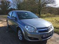 USED 2008 08 VAUXHALL ASTRA 1.8 DESIGN 16V E4 5d 140 BHP Alloy Wheels, Low Mileage