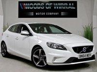 2014 VOLVO V40 1.6 D2 R-DESIGN 5d 113 BHP £10180.00