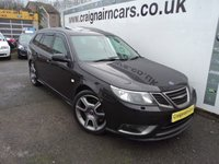 USED 2008 08 SAAB 9-3 2.8 TURBO XWD 5d 280 BHP Scarce Car With Full Leather And Heated Seats+Service History