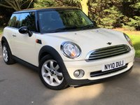 2010 MINI HATCH COOPER 1.6 COOPER 3d 122 BHP £5490.00