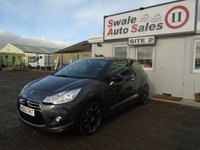 2013 CITROEN DS3 1.6 E-HDI AIRDREAM DSPORT 3d 111 BHP £7195.00