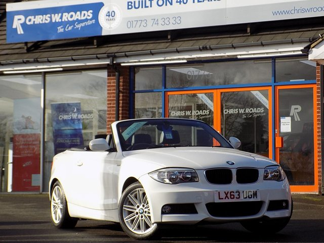 USED 2013 63 BMW 1 SERIES 2.0 118I M SPORT 2dr Convertible (141)  *ONLY 9.9% APR*