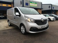 2016 RENAULT TRAFIC 1.6 SL27 SPORT DCI S/R P/V 1d 115 BHP £12000.00