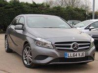 2014 MERCEDES-BENZ A CLASS 1.5 A180 CDI BLUEEFFICIENCY SPORT 5d AUTO 109 BHP £12995.00
