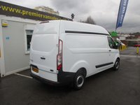 2014 FORD TRANSIT CUSTOM 2.2 290 CUSTOM HI ROOF VAN, LONG WHEEL BASE, DIESEL NEW SHAPE MODEL  ONE OWNER, SUPER CONDITION ALL ROUND £SOLD