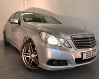 2011 MERCEDES-BENZ E CLASS 2.1 E200 CDI BLUEEFFICIENCY SE EDITION 125 4d 136 BHP £9999.00