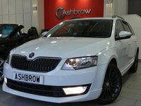 USED 2014 64 SKODA OCTAVIA ESTATE 1.6 TDI CR BLACK EDITION 5d AUTO 105 S/S SAT NAV, DAB RADIO, BLUETOOTH PHONE & MUSIC STREAMING, REAR PARKING SENSORS WITH DISPLAY (PARK PILOT), CRUISE CONTROL, AUX & USB INPUTS, 18 INCH 15 SPOKE BLACK ALLOYS, BLACK EDITION BODY KIT WITH FRONT & REAR VALANCES & EXTENDED SIDE MOULDINGS, LEATHER STEERING WHEEL, DRIVING MODE SELECTION, 1 OWNER FROM NEW, FULL SKODA SERVICE HISTORY, £20 ROAD TAX (104 G/KM)