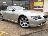 2005 BMW 6 SERIES 4.4 645CI 2d AUTO 329 BHP £8495.00