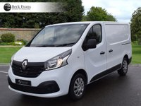 USED 2016 16 RENAULT TRAFIC 1.6 SL27 BUSINESS PLUS DCI S/R P/V 1d 115 BHP PLY LINED CHOICE OF VANS  PLY LINED AIR CONDITIONING