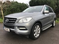 USED 2012 12 MERCEDES-BENZ M CLASS 2.1 ML250 BLUETEC SPECIAL EDITION 5d AUTO 204 BHP NEW SHAPE ML WITH FSH