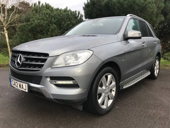2012 MERCEDES-BENZ M CLASS 2.1 ML250 BLUETEC SPECIAL EDITION 5d AUTO 204 BHP £17950.00