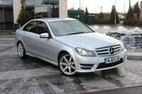 USED 2013 63 MERCEDES-BENZ C CLASS C250 CDI BLUEEFFICIENCY AMG SPORT PLUS 2.1 4d AUTO ONLY 53K - XENON - BIG SPEC