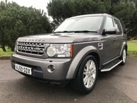 USED 2009 59 LAND ROVER DISCOVERY 4 3.0 4 TDV6 HSE 5d AUTO 245 BHP GREAT SPEC DISCOVERY 4 WITH SAT NAV PAN ROOF LEATHER AND FSH
