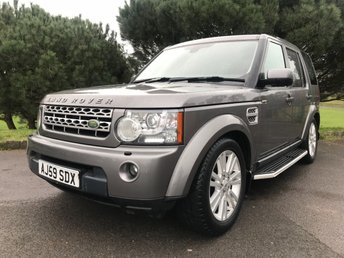 2009 LAND ROVER DISCOVERY 4 3.0 4 TDV6 HSE 5d AUTO 245 BHP £15650.00