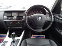 USED 2011 11 BMW X3 2.0 XDRIVE20D SE 5d AUTO 181 BHP current MOT, V5 doc shows 1 previous keeper a service book showing 4 services 3 main dealership at 17,629 / 35,123 & 52,375 miles and the last at 62,744 miles done at an independent garage. It has 1 main key and a skeleton key (not tested) with manual pack