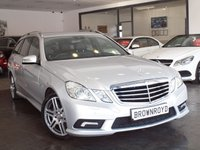 USED 2010 60 MERCEDES-BENZ E CLASS 2.1 E250 CDI BLUEEFFICIENCY SPORT 5d AUTO 204 BHP +SAT NAV+HEATED LEATHER+FMSH+