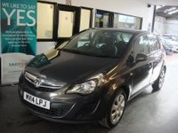 USED 2014 14 VAUXHALL CORSA 1.2 DESIGN AC 5d 83 BHP Two owners, Vauxhall service history. Supplied with 12 months Mot & a service. Finished in Metallic Asteroid Grey.