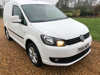 2014 VOLKSWAGEN CADDY 2.0 C20 TDI HIGHLINE 1d AUTO 138 BHP £12500.00