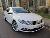 2014 VOLKSWAGEN CC 2.0 GT TDI BLUEMOTION TECHNOLOGY DSG 4d AUTO 138 BHP £12995.00