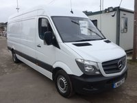 USED 2016 66 MERCEDES-BENZ SPRINTER 314CDI LWB, 140 BHP [EURO 6], LOW MILES