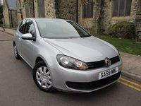 2009 VOLKSWAGEN GOLF 1.4 S 3d 79 BHP £4995.00