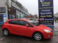 USED 2012 12 VAUXHALL ASTRA 1.6 EXCLUSIV 5d 113 BHP, only 18000 miles ***GREAT FINANCE DEALS AVAILABLE***